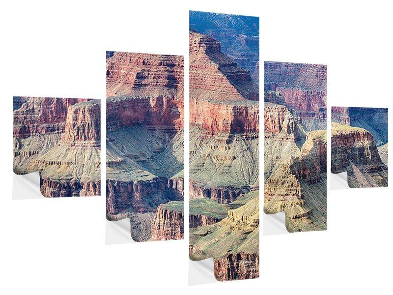 Klebeposter 5-teilig Gran Canyon