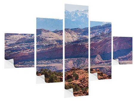 Klebeposter 5-teilig Bruce-Canyon-Nationalpark