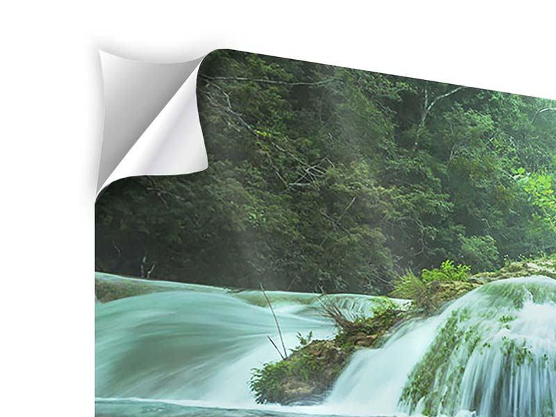 Klebeposter 5-teilig Gigantischer Wasserfall