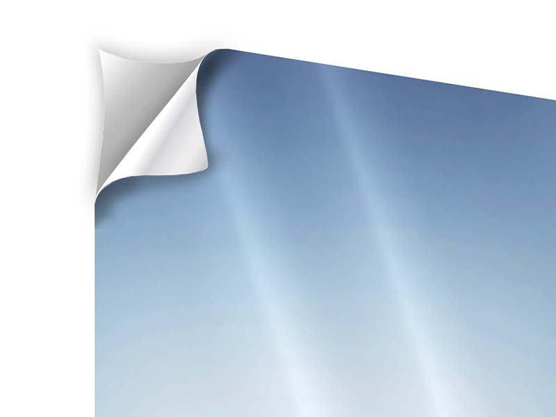 Klebeposter 5-teilig modern Der Tropfen