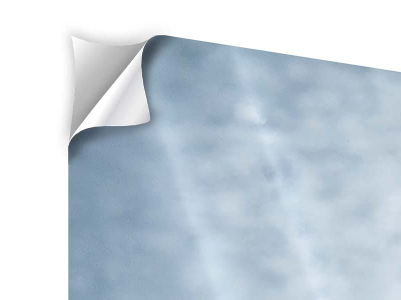 Klebeposter 5-teilig modern Wasserdynamik