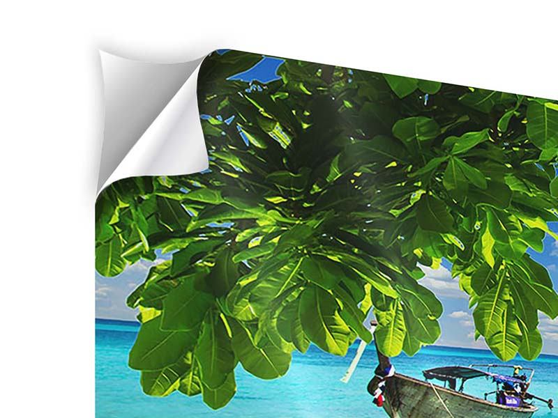 Klebeposter 5-teilig modern Ein Blick auf das Meer