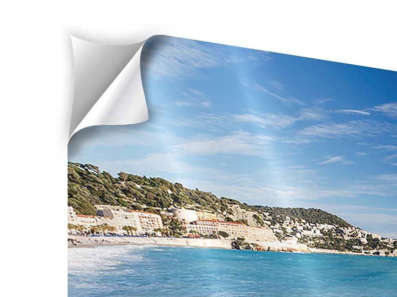Klebeposter 5-teilig modern Cote D`Azur