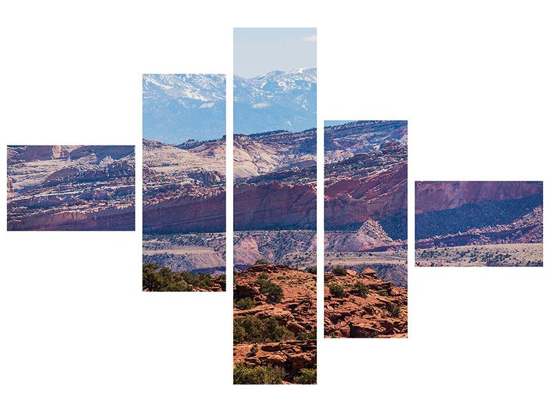 Klebeposter 5-teilig modern Bruce-Canyon-Nationalpark