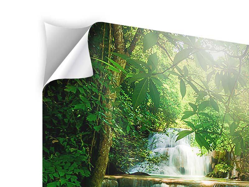 Klebeposter 9-teilig Wasserfall Thailand