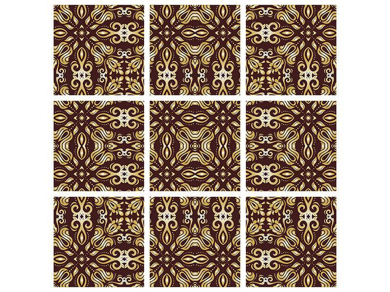 Klebeposter 9-teilig Barockkunst