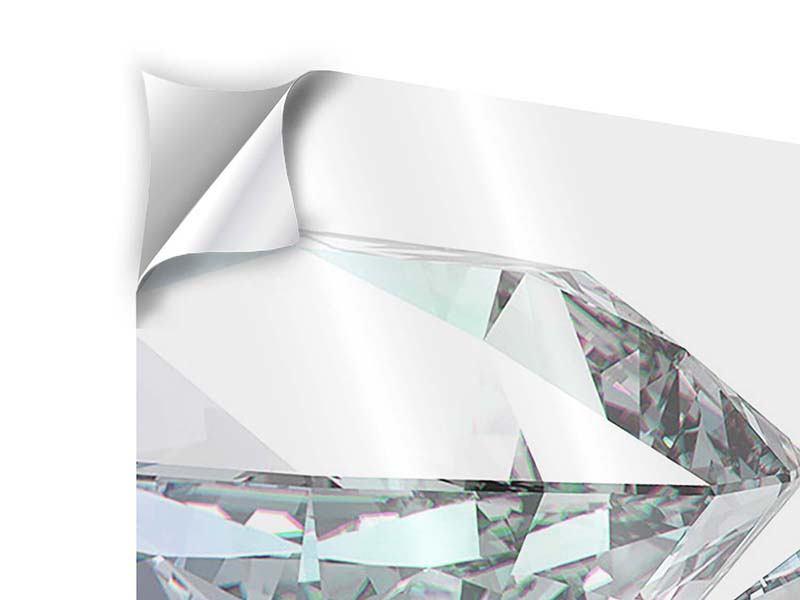 Klebeposter 9-teilig XXL Diamant