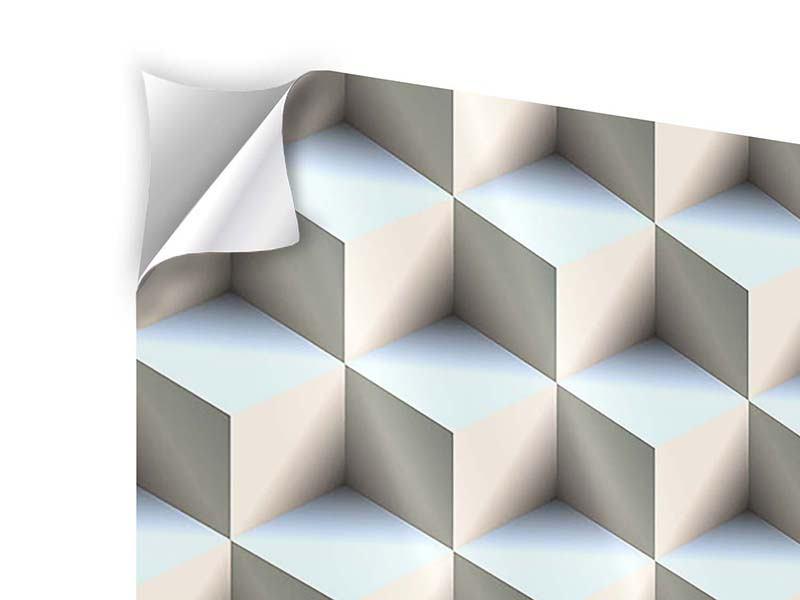 Klebeposter 9-teilig 3D-Polytop