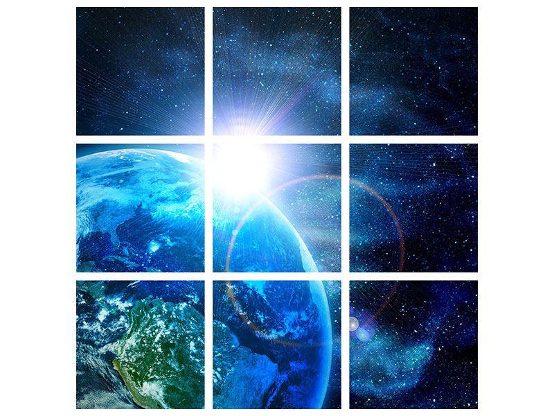 Klebeposter 9-teilig Galaxien