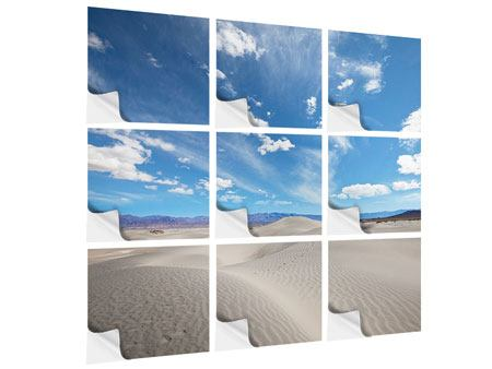 Klebeposter 9-teilig Wüstenlandschaft