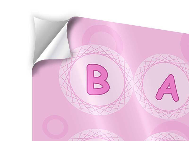 Klebeposter 9-teilig Baby-Girl
