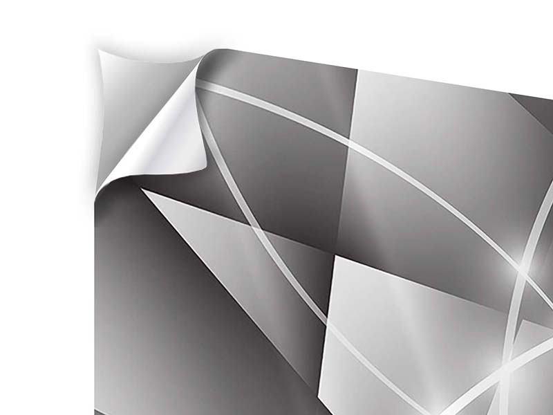 Klebeposter 9-teilig Geometrie