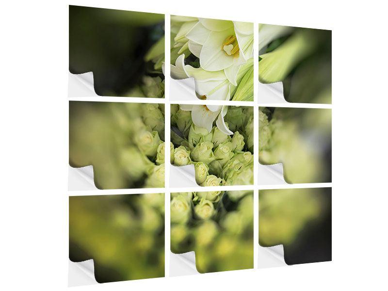 Klebeposter 9-teilig Die Lilien und Friends