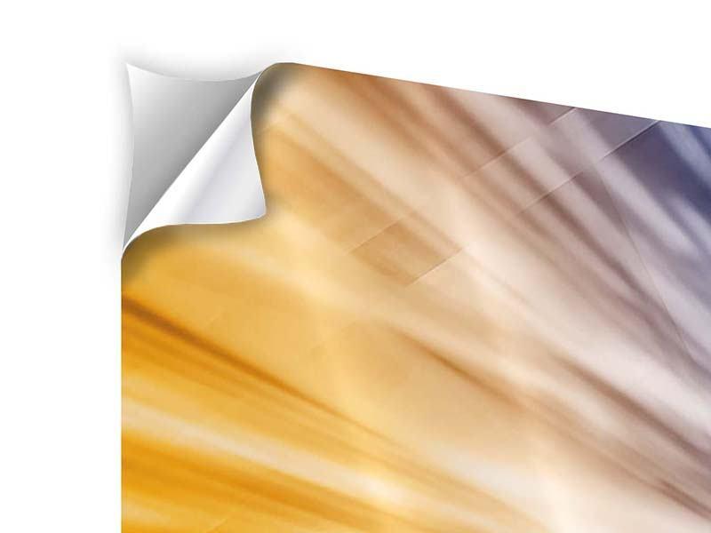 Klebeposter 9-teilig Abstrakte Galaxie