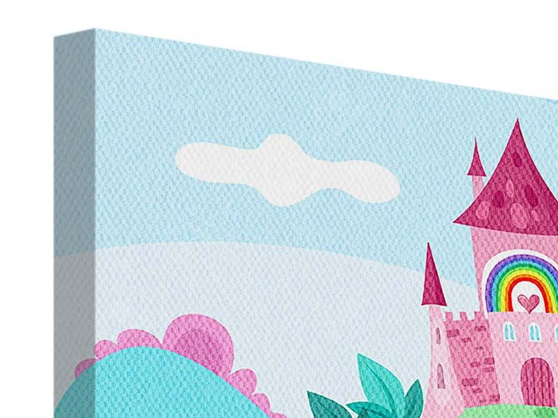 Leinwandbild Panorama Prinzessinnentraum