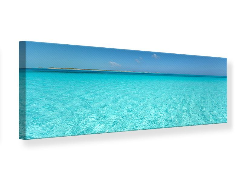 Leinwandbild Panorama Das Meer und Jules Verne