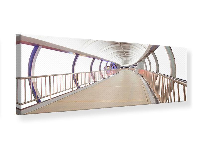 Leinwandbild Panorama Brückenfeeling