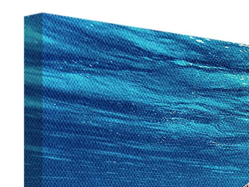 Leinwandbild Panorama Schönheit unter Wasser