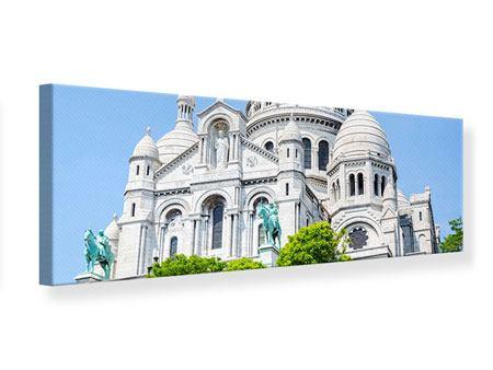 Leinwandbild Panorama Paris- Montmartre