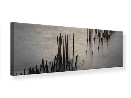 Leinwandbild Panorama Das Meer und die Träne