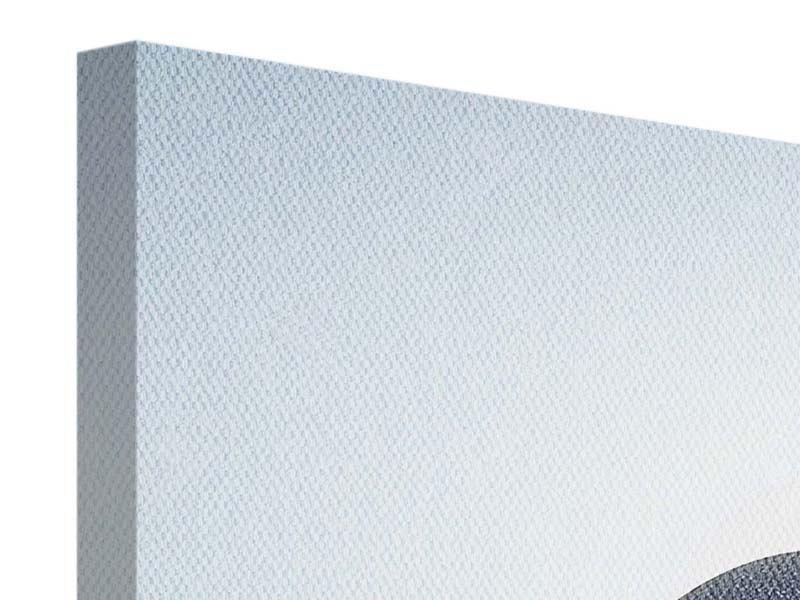 Leinwandbild Panorama Steinbalance