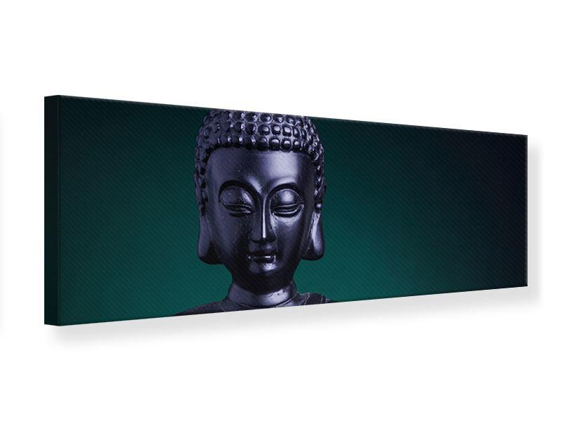 Leinwandbild Panorama Die Weisheit des Buddhas