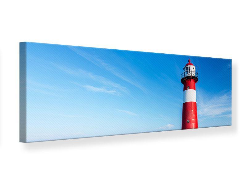 Leinwandbild Panorama Der Leuchtturm