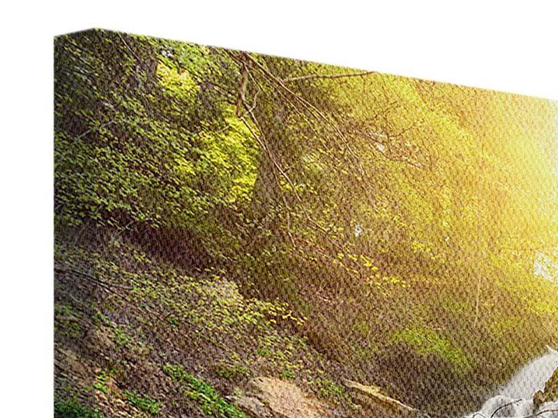 Leinwandbild Panorama Naturschönheit