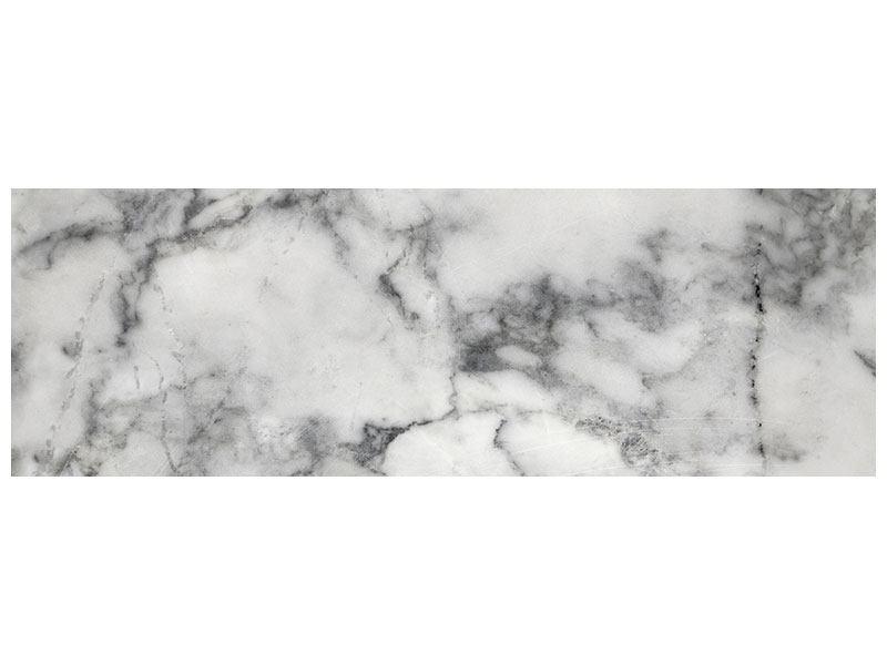 Leinwandbild Panorama Klassischer Marmor