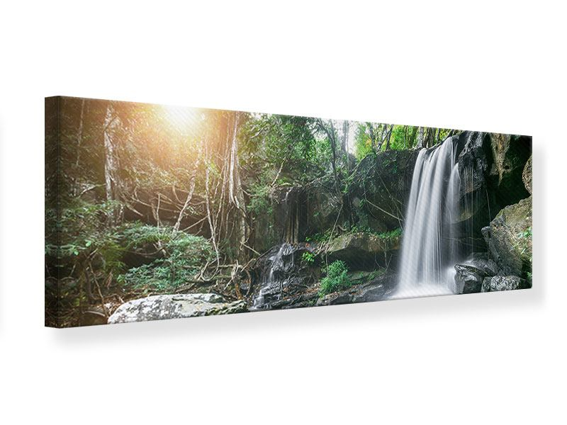 Leinwandbild Panorama Naturschauspiel