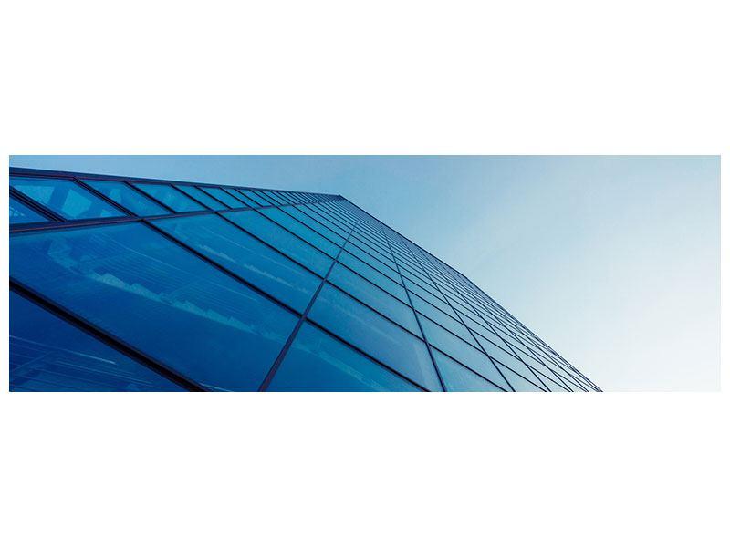 Leinwandbild Panorama Wolkenkratzer-Highlight