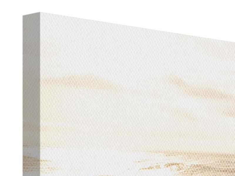 Leinwandbild Panorama Meeresbrandung