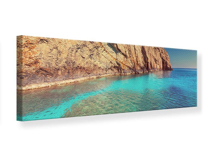 Leinwandbild Panorama Wasser