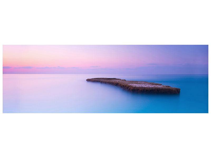 Leinwandbild Panorama Unendlicher Ozean