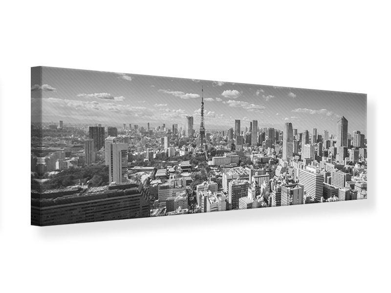 Leinwandbild Panorama Tokio