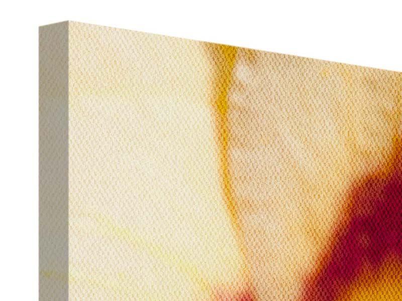 Leinwandbild Panorama Riesenlilie