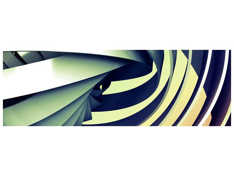 Leinwandbild Panorama Abstrakte Perspektiven