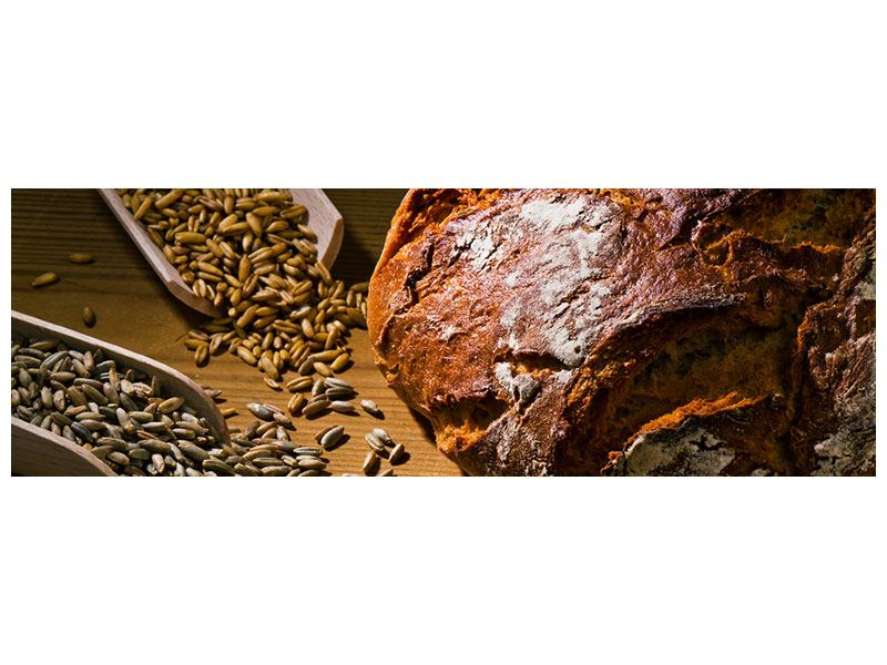 Leinwandbild Panorama Das Brot