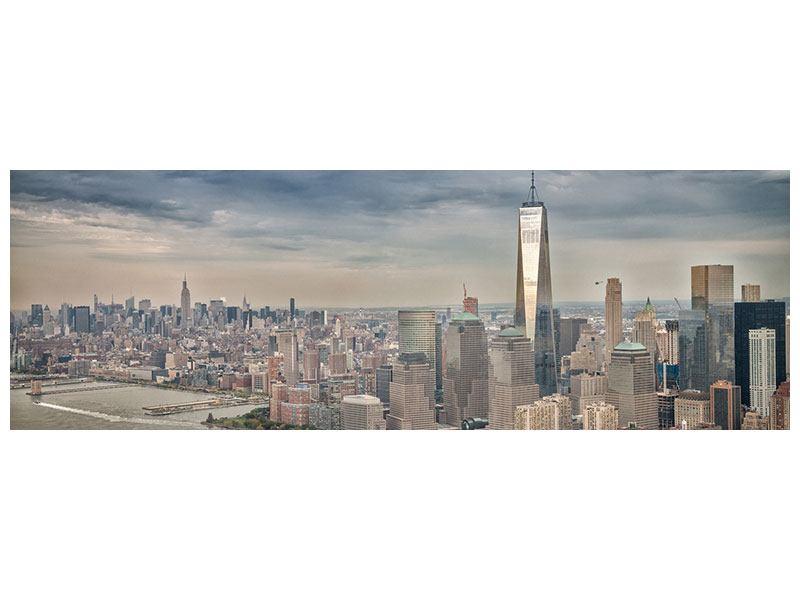 Leinwandbild Panorama Skyline Manhattan