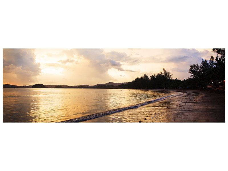 Leinwandbild Panorama Das Ufer