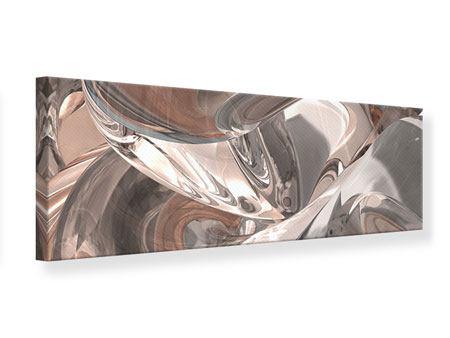 Leinwandbild Panorama Abstraktes Glasfliessen