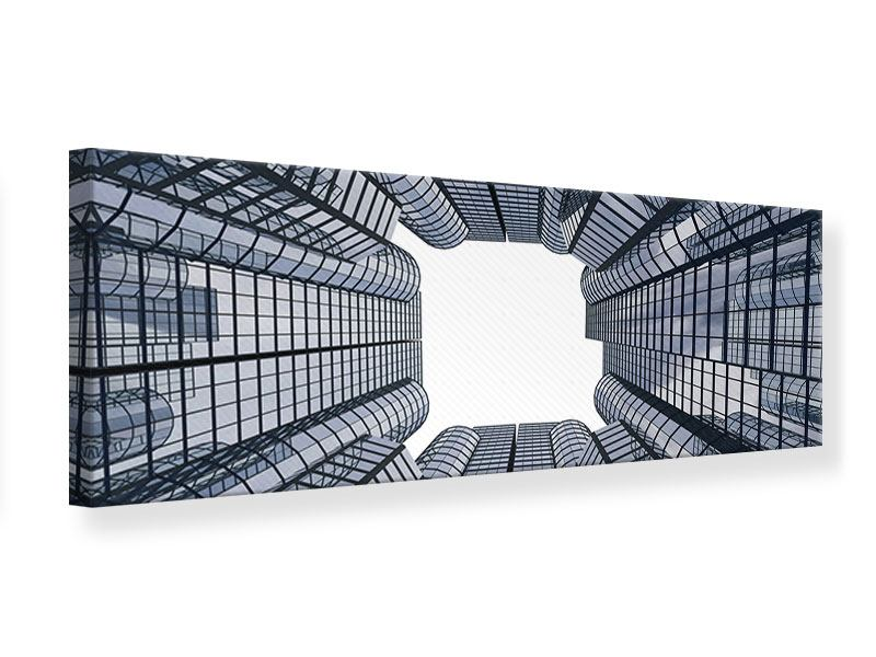 Leinwandbild Panorama Besondere Perspektive