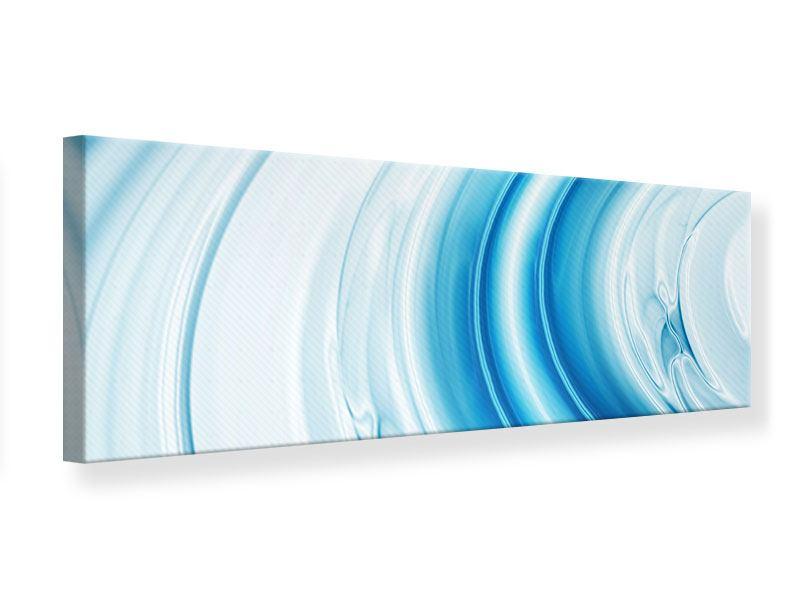 Leinwandbild Panorama Abstraktes Glas