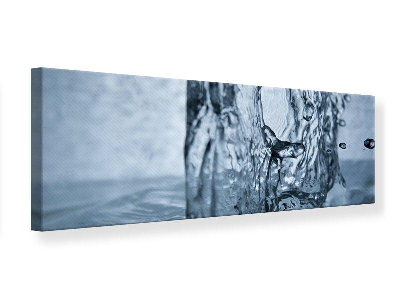 Leinwandbild Panorama Wasserdynamik