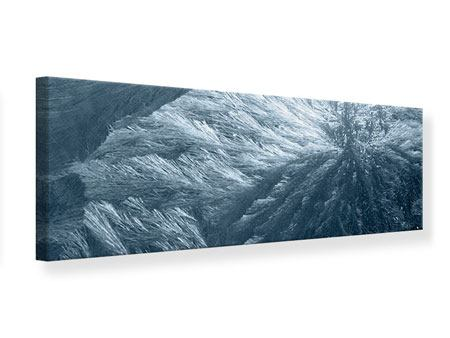Leinwandbild Panorama Eis