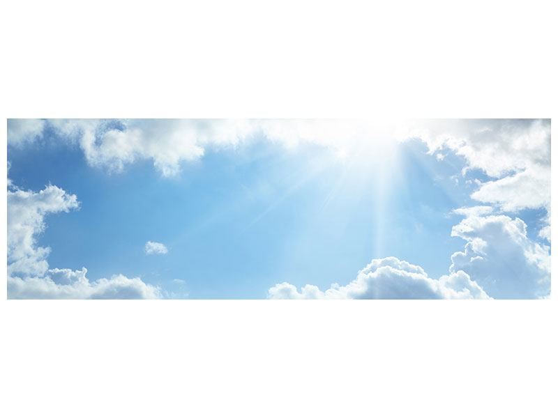 Leinwandbild Panorama Himmelshoffnung