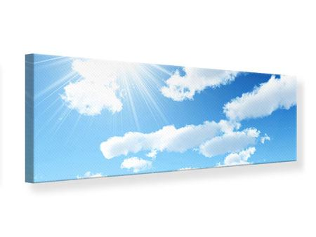 Leinwandbild Panorama Am Himmel