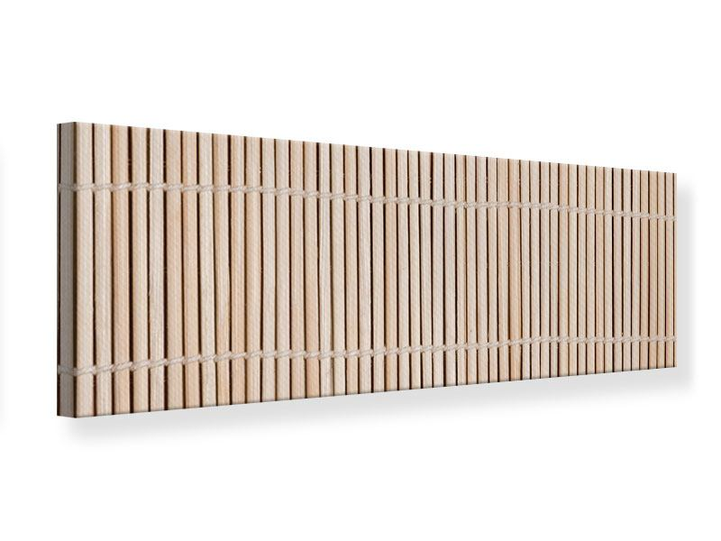 Leinwandbild Panorama Lucky Bamboo