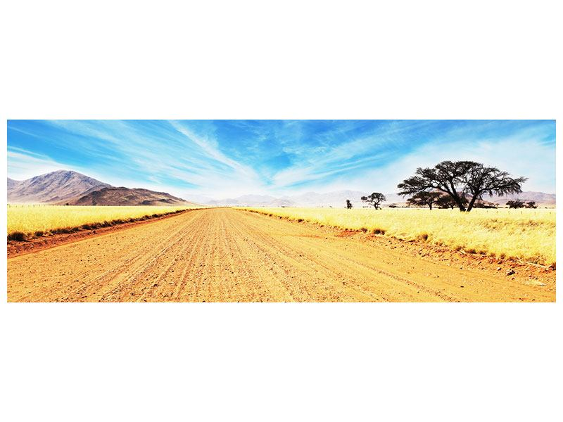 Leinwandbild Panorama Eine Landschaft in Afrika
