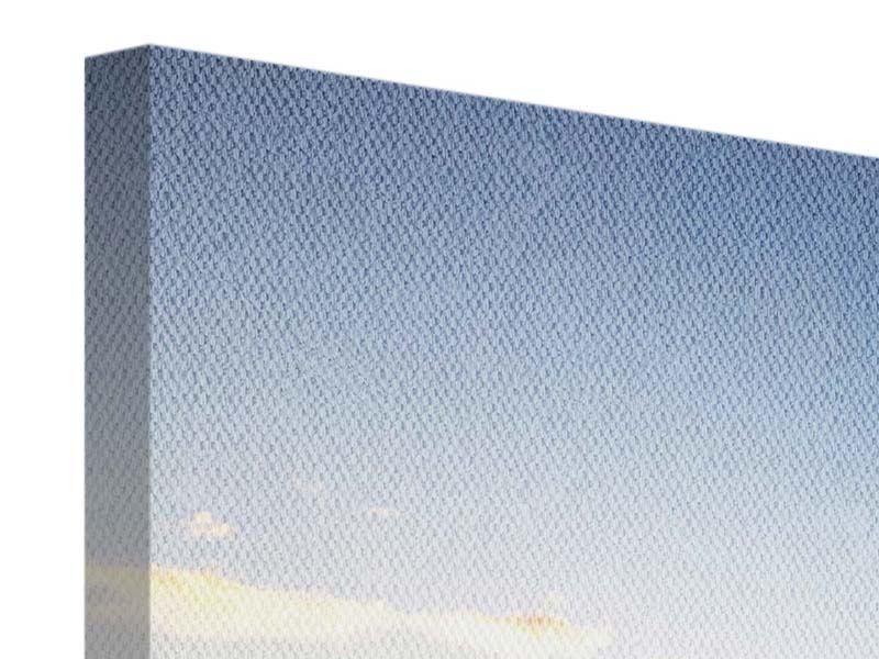 Leinwandbild Panorama Katamaran